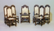 17thc cane chairs