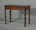 Chippendale gothic card table